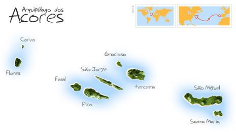 arquipélago dos açores mapa A Casa do Ouvidor arquipélago dos açores mapa